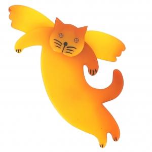 broche chat angelo jaune 2