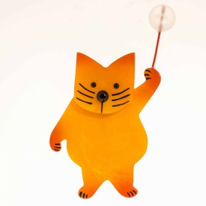 broche chat boule jaune scaled