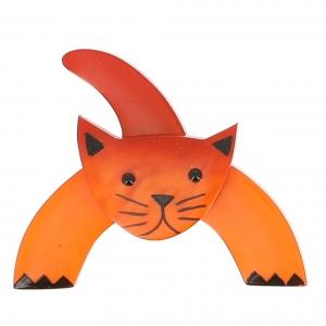 broche chat loulou orange 0000