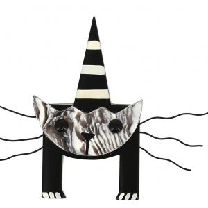 broche chat mascotte tigre 0000