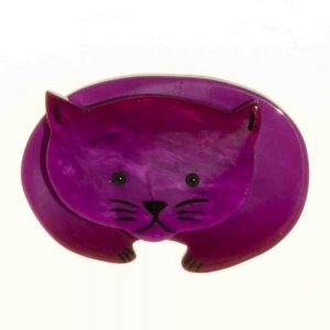 broche chat ours violine