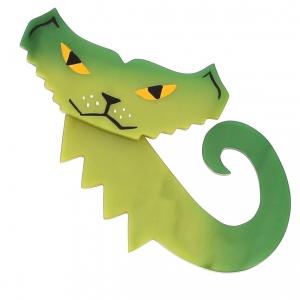 broche chat petrus vert 0000