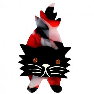 broche chat roc bandit