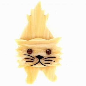 broche chat roc ivoirine