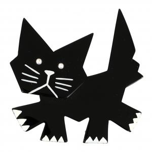 broche chat rocky ii nnoir 0000