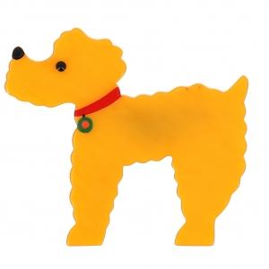 broche chien BrocheCaniche 0001