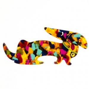 broche chien fifi confettis 2