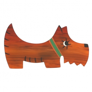 broche chien raoul roux