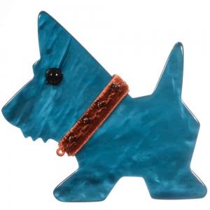 broche chien tamour ocean