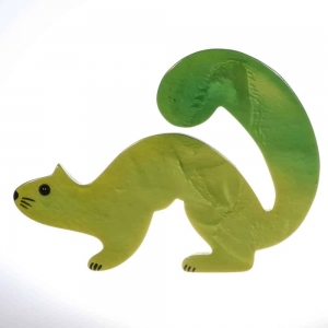 broche hermine vert 1