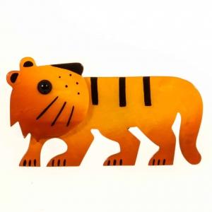 broche tigredou jaune 1