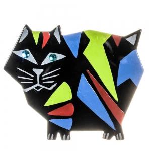 broches hors séries chat africain noir