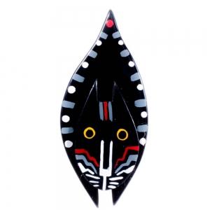 broches hors séries chat goutte noir gris