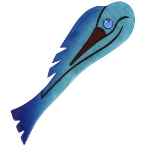 broches hors séries oiseau art deco ocean
