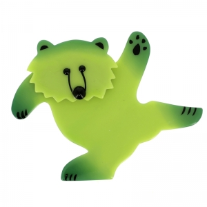 broche ours dansant anis