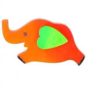 elephant coeur orange anis