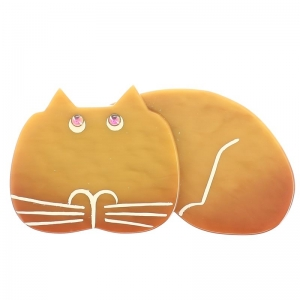 Chat Tommy ocre