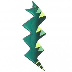 Broche Naja vert