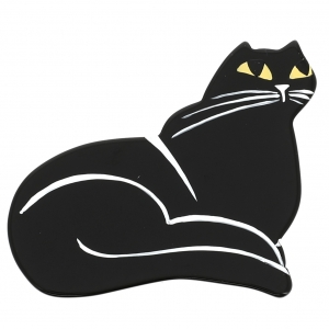 chat dricky noir