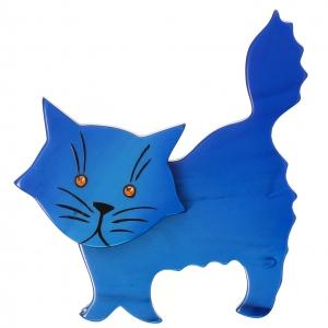 Chat Fripon bleu