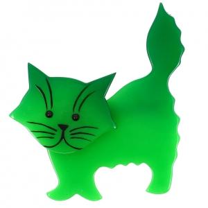 Chat Fripon vert