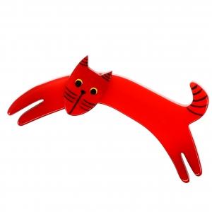 Chat Riri rouge