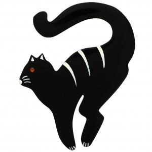 Chat Violoncelle noir