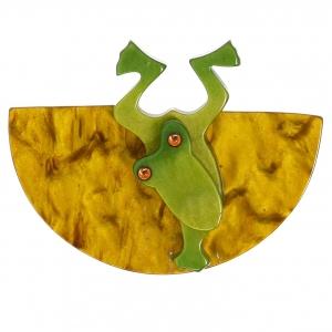 Grenouille Plongeante et or