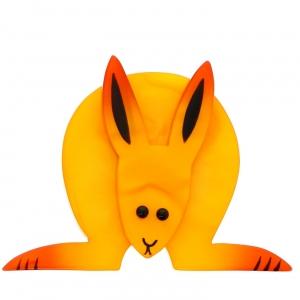 Lapin Boule jaune