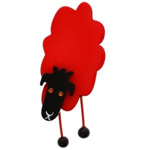 Mouton Face rouge
