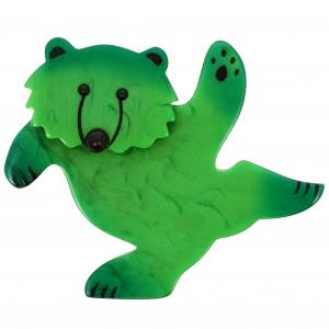Ours Dansant vert Pré