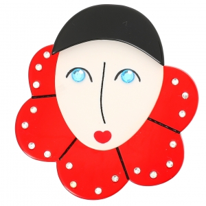 Pierrot Collerette rouge