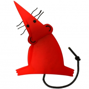 Rat Moustaches rouge