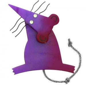 Rat Moustaches violet