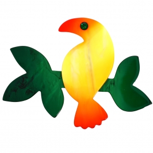 Toucan jaune orange