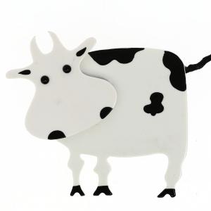Vache Profil Blanc