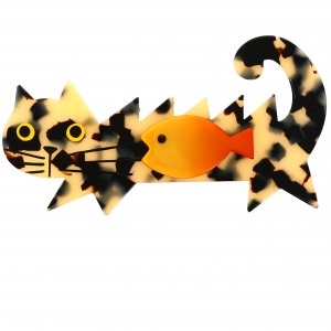 chat poisson ecaille
