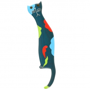 chat silhouette emeraude scaled