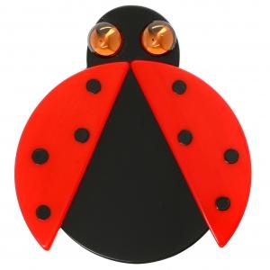 coccinelles ailes rouge