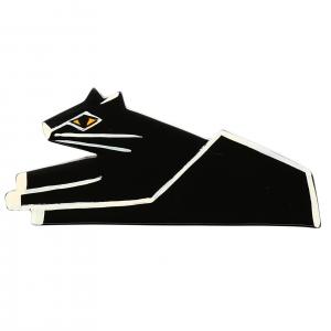 Chat Assis noir 1