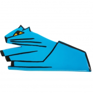 Chat Assis turquoise 1