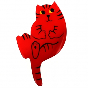 Chat B7 rouge