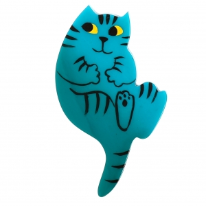 Chat B7 turquoise