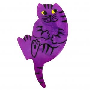Chat B7 violet