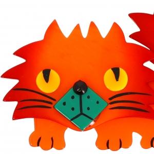Chat Rocky orange 1