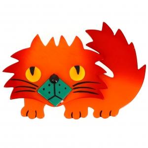 Chat Rocky orange