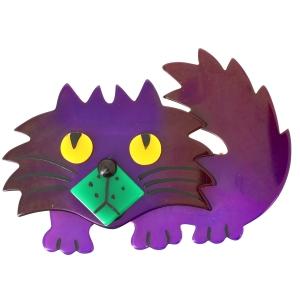 Chat Rocky violet