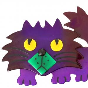 Chat Rocky violet1