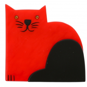 Chat Socrate rouge