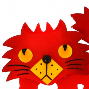 Chat rocky rouge 1